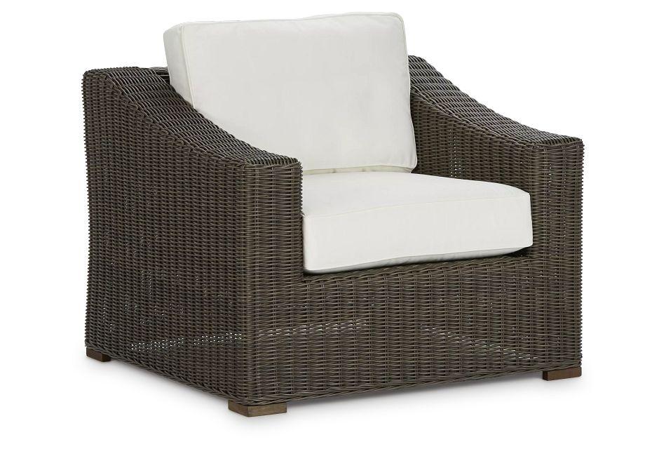 Canyon Gray White Chair