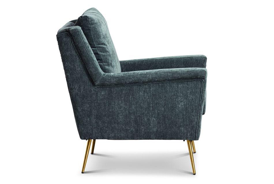 Cambridge Gray Velvet Accent Chair