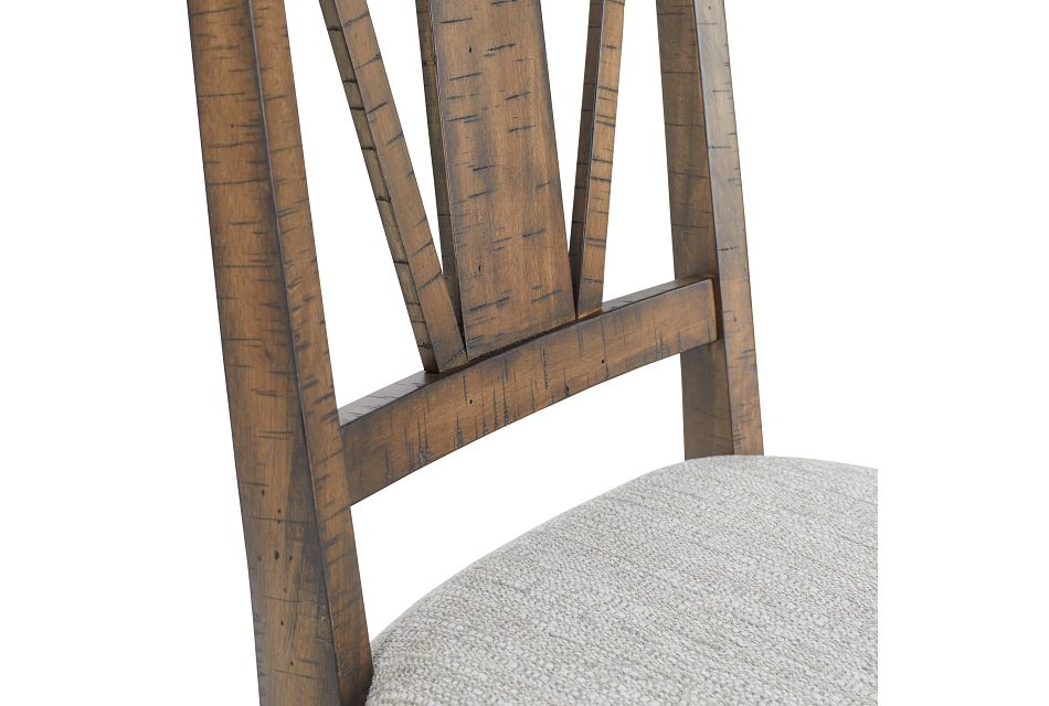 Heron Cove Mid Tone Upholstered Side Chair