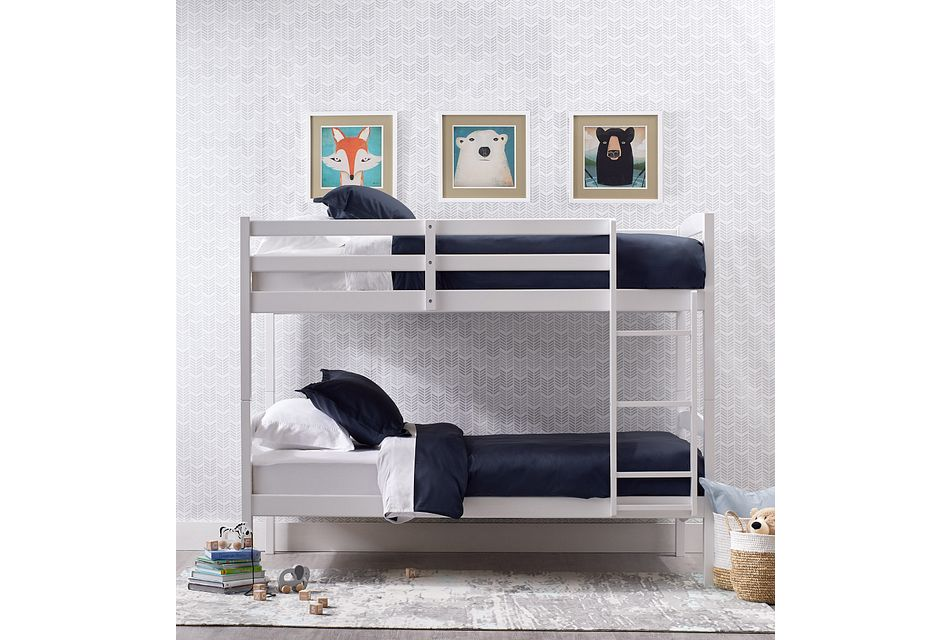 Marley White Bunk Bed