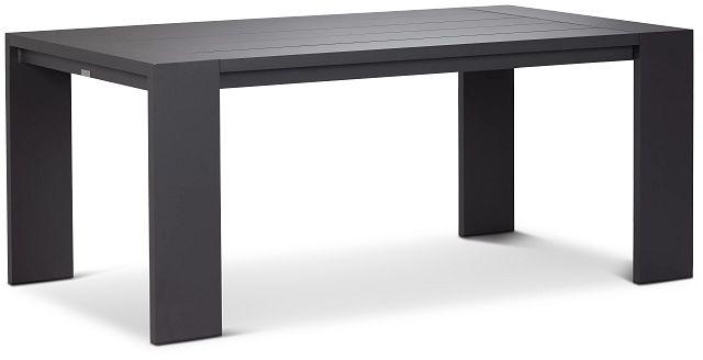 "Linear Dark Gray 70"" Rectangular Table (1)"