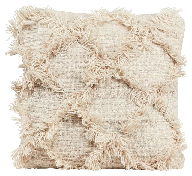 Jucar Ivory Accent Pillow