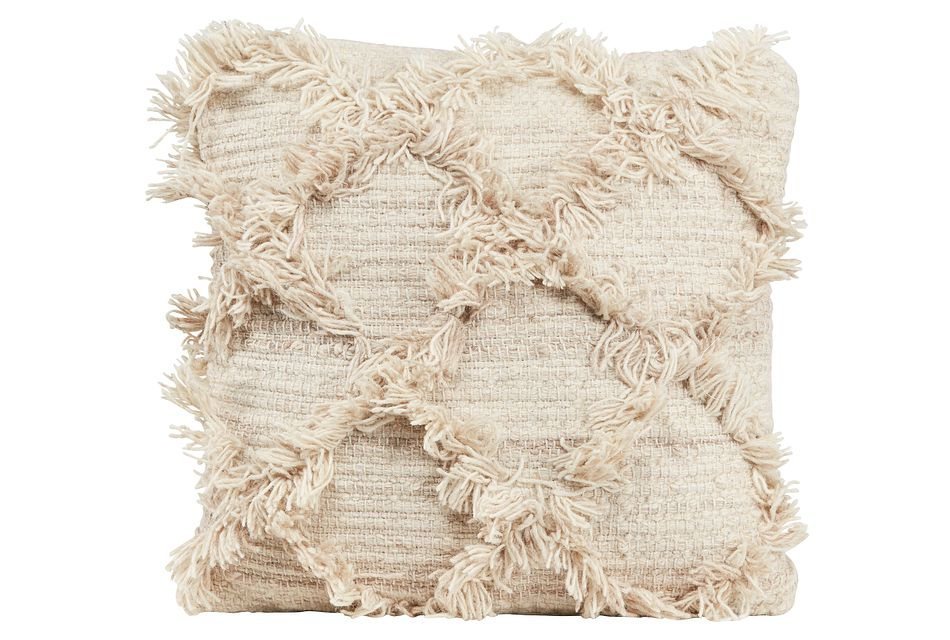 Jucar Ivory  Accent Pillow