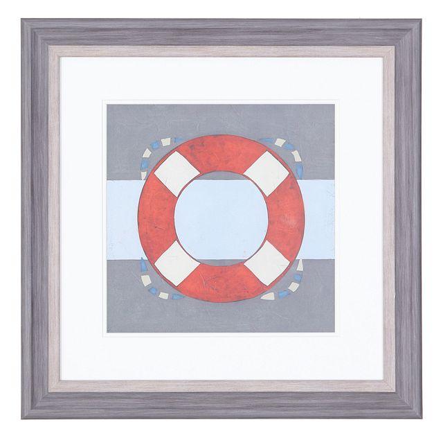 Buoy Red Framed Wall Art (1)