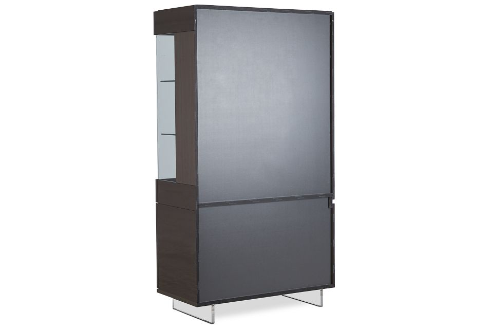 Athena Dark Gray Curio