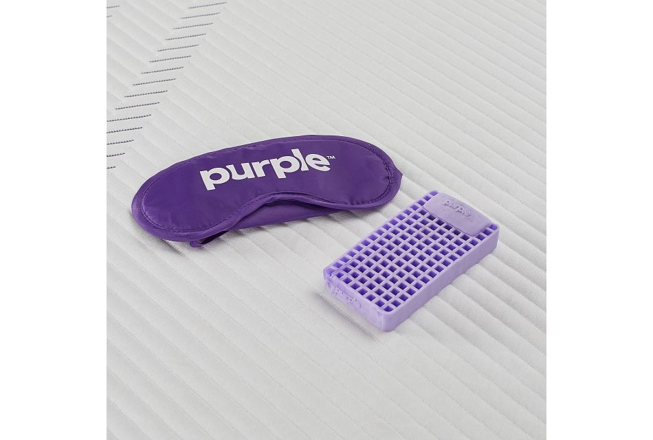 Purple Hybrid Mattress Set