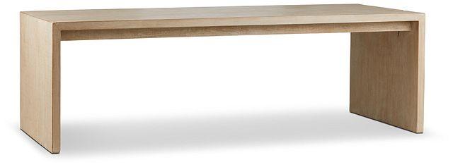 Merwin Light Tone Wood Rectangular Table (2)
