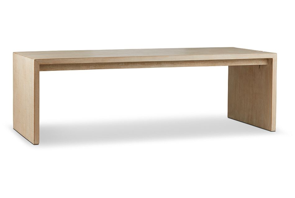 Merwin Light Tone Wood Rectangular Table