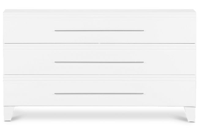 Midtown White Dresser