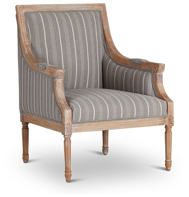 Mckenna Multicolored Fabric Accent Chair (1)