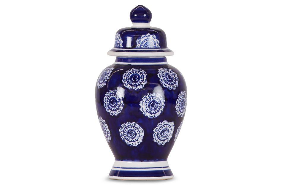 Lila Blue Jar