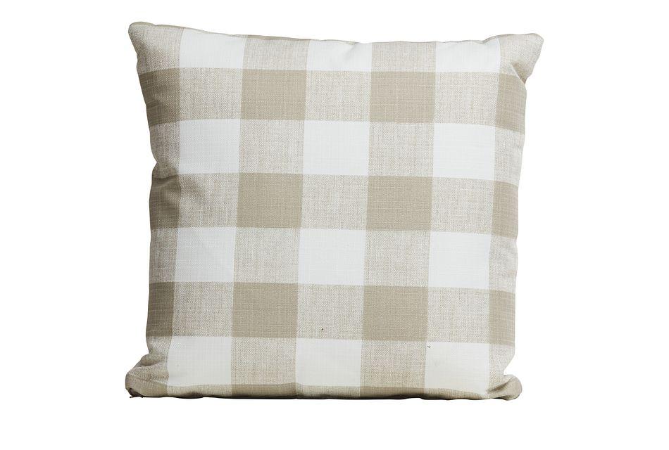 Kipling Gray Lumbar Indoor/outdoor Accent Pillow