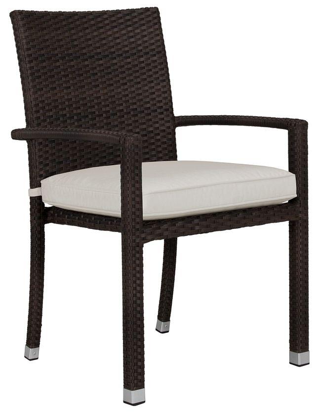 Zen White Arm Chair (2)