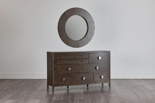 Linea Dark Tone Dresser & Mirror (0)