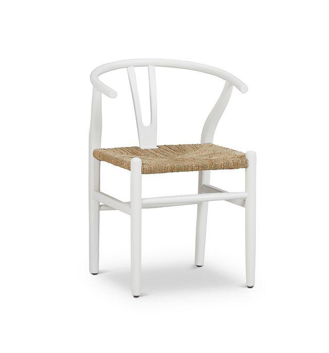 Moya White Wood Side Chair (1)