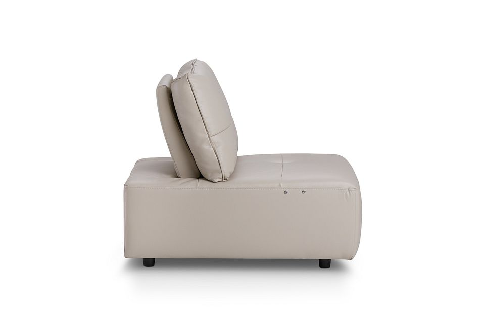 Trice TAUPE LTHR/VINYL Armless Power Recliner
