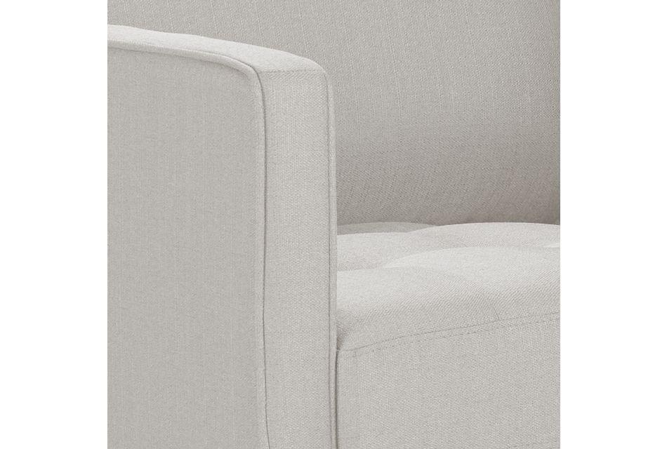 Rue Light Beige Fabric Chair