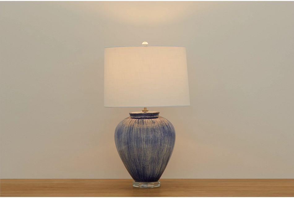 Giada Blue Table Lamp