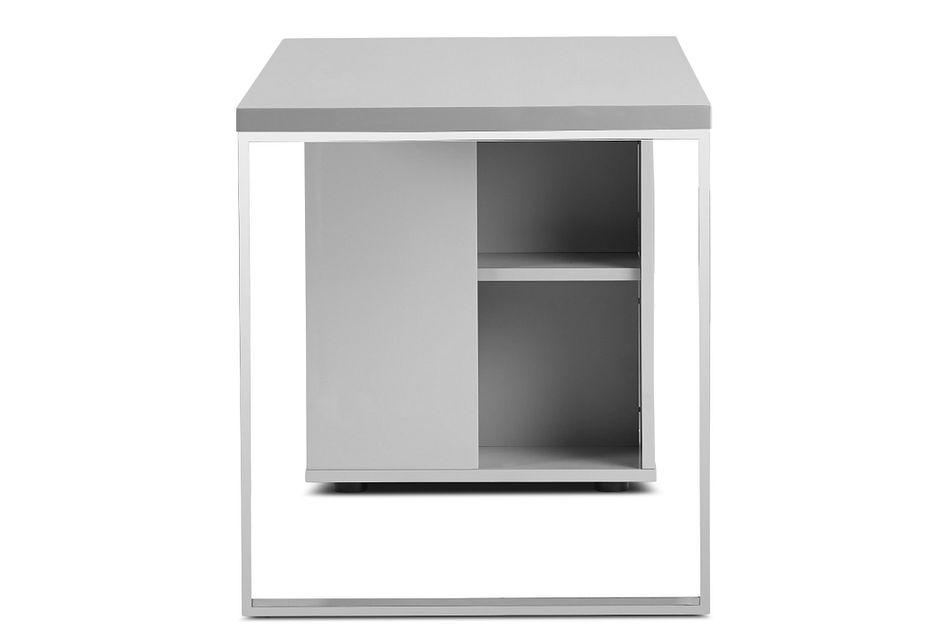 Vancouver Gray Storage Desk