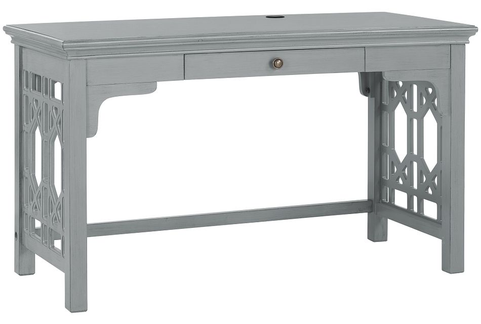 Joplin Gray 1-drawer Desk