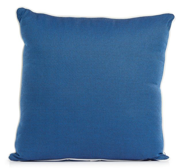 """Forest Blue 20"""" Indoor/outdoor Square Accent Pillow (0)"""