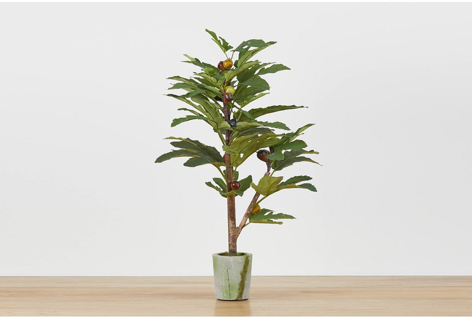 Jaxson Small Cement Olive Tree
