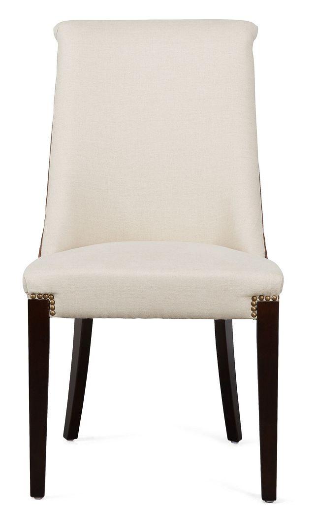 Brynn Light Beige Micro Side Chair (1)