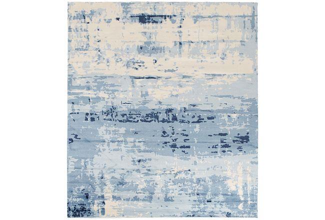 Marble Blue 8x10 Area Rug