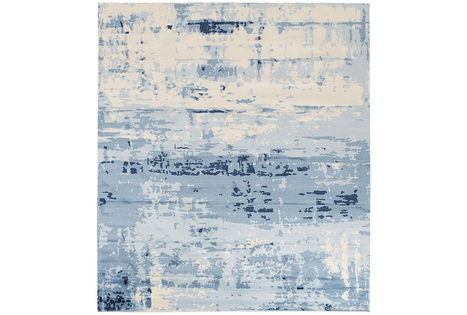 Marble Blue 8x10 Area Rug