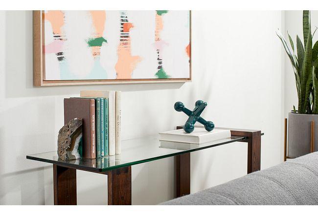 Bristow Glass Sofa Table