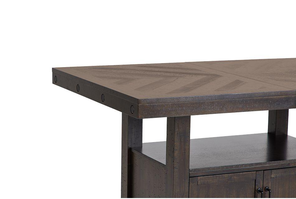 Colorado Dark Tone High Dining Table