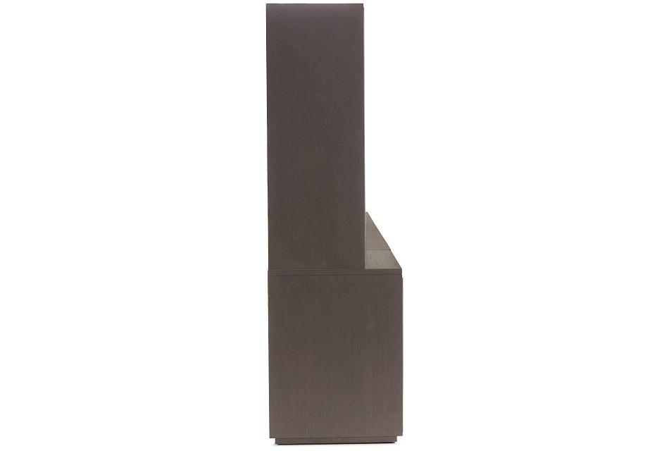Highline Dark Tone Medium Door Entertainment Wall