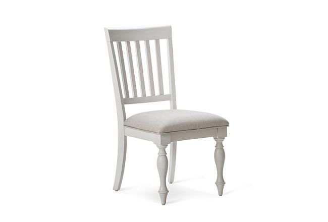 Grand Bay Gray Upholstered Side Chair