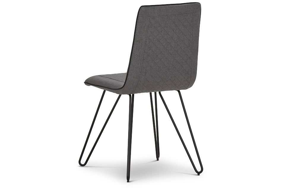 Gabe Gray Upholstered Side Chair