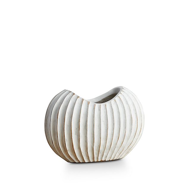 Wes White Vase (3)