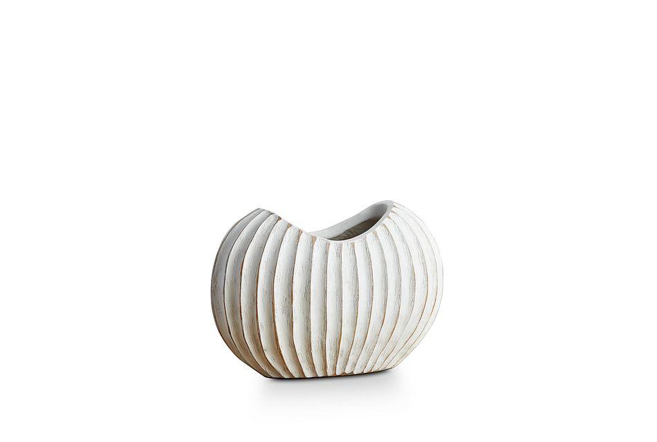 Wes White Vase