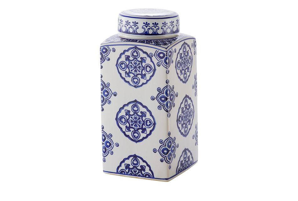 Dirk Dark Blue Large Jar