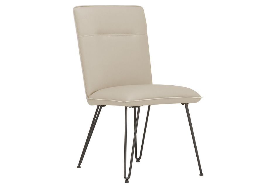Demi TAUPE  Upholstered Side Chair,  (2)