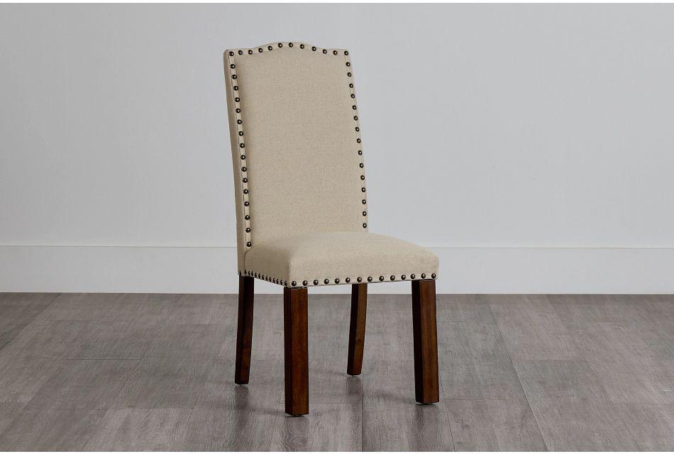 Napa Dark Tone Upholstered Side Chair,  (0)