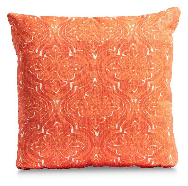 """Atlantic Orange 20"""" Indoor/outdoor Accent Pillow (0)"""