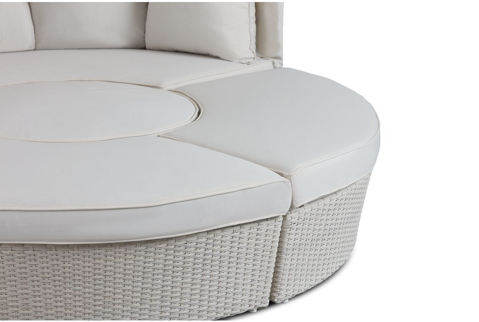 Biscayne White Canopy Daybed