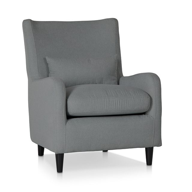 Fremont Gray Fabric Accent Chair (1)