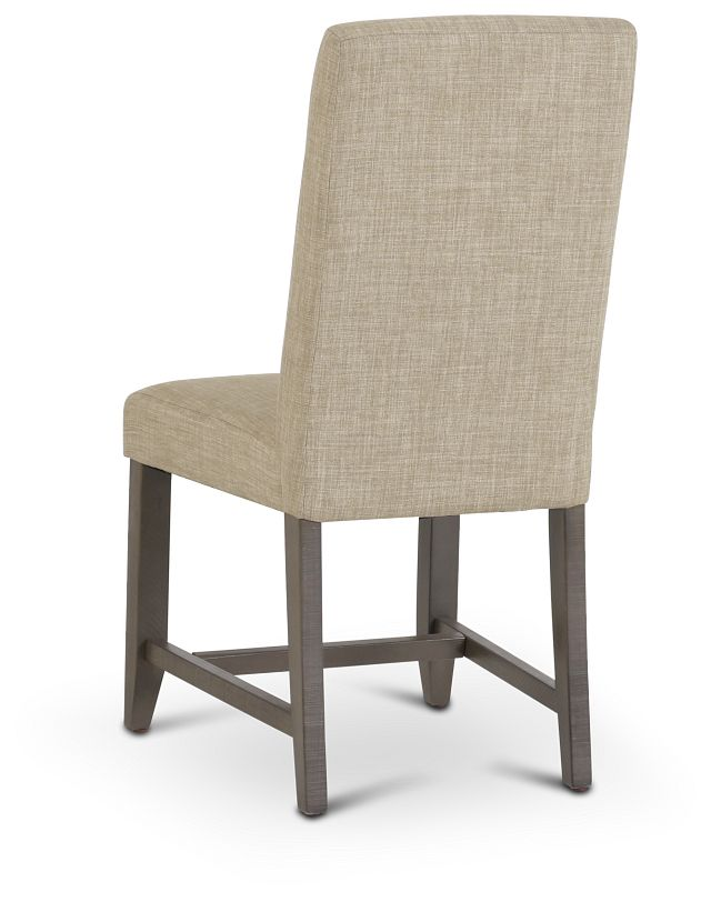 Taryn Light Taupe Upholstered Side Chair