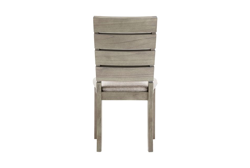 Sienna Gray Slat Side Chair