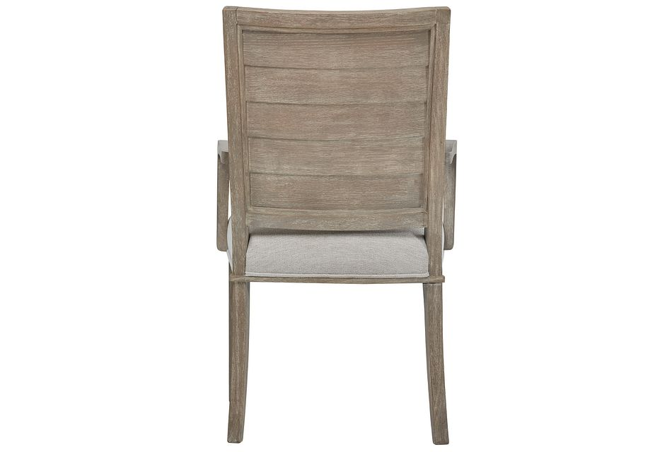 Zephyr Beige Upholstered Arm Chair