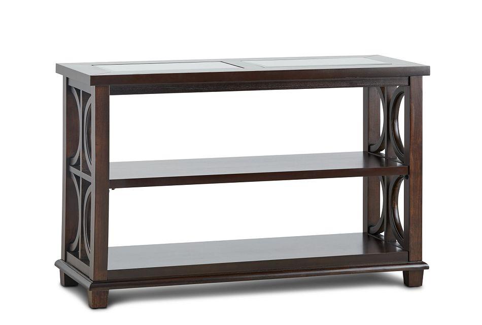 Soren Dark Tone Wood Sofa Table