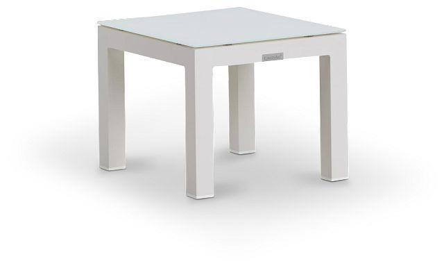 Lisbon3 White End Table (2)