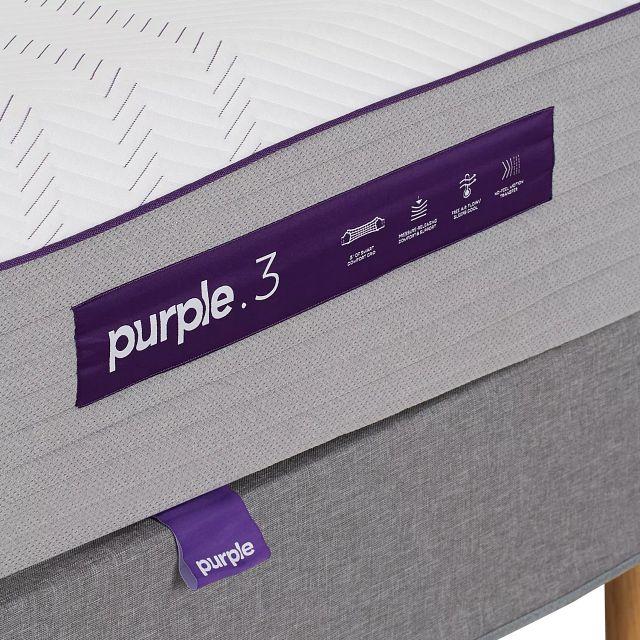 Purple Premier 3 Hybrid Adjustable Mattress Set (3)