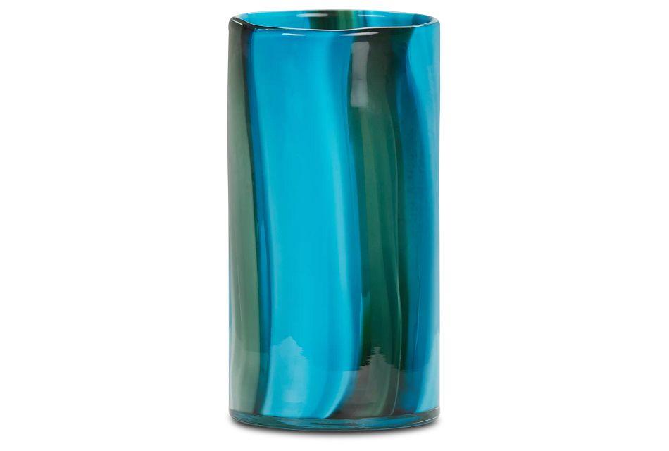 Landry Blue Small Vase