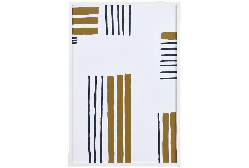 Saige Beige Framed Wall Art,  (0)